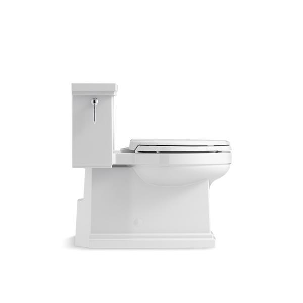 Toilette monobloc Tresham de KOHLER, 1,28 gal/chasse, blanche