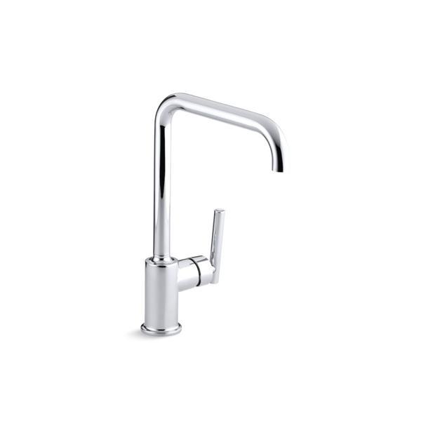 KOHLER Purist High-Arc Kitchen Sink Faucet - Chrome