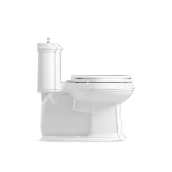 KOHLER Portrait Elongated Toilet - 1-Piece - Comfort Height - Biscuit