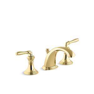 Robinet de lavabo Devonshire de KOHLER, 2 poignées, cuivre poli