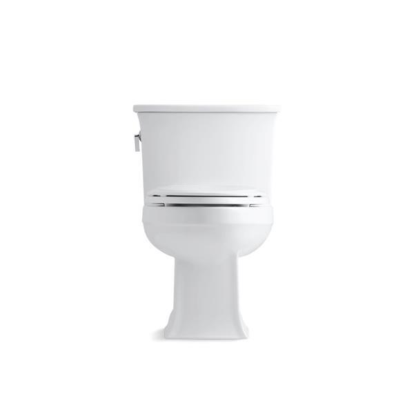 KOHLER Archer Elongated Toilet - 1-Piece - Standard Height - White