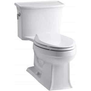 Toilette monobloc Archer de KOHLER, blanche