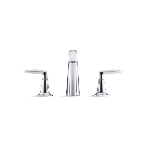 KOHLER Alteo Bathroom Sink Faucet - 2-Handle - WaterSense Labeled - Polished Chrome