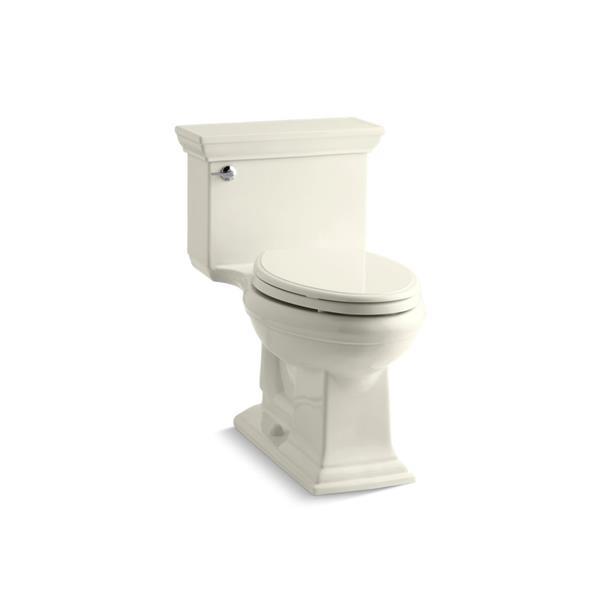 Toilette allongée Memoirs Stately de KOHLER, biscuit