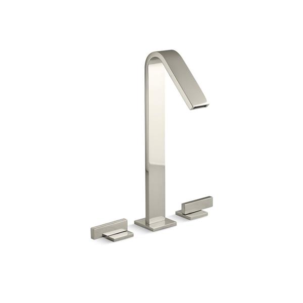 KOHLER Loure Tall Bathroom Sink Faucet - 1-Handle - Polished Nickel