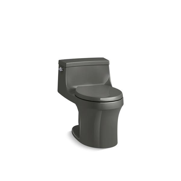 Toilette monobloc San Souci de KOHLER, 1,28 gal/chasse, grise