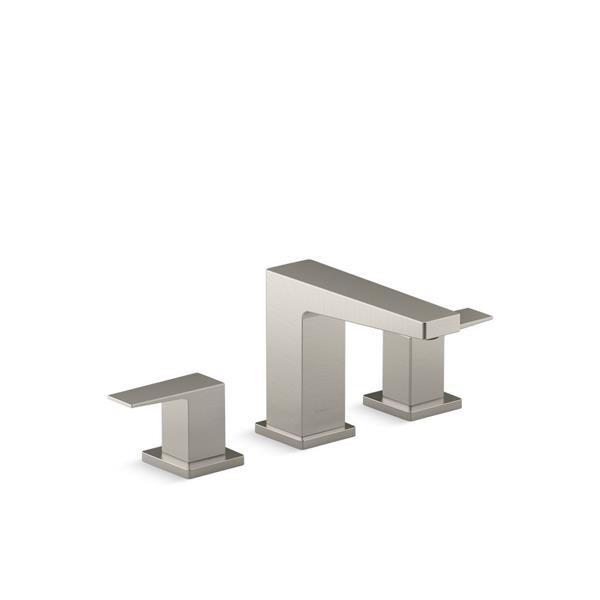 KOHLER Honesty Bathroom Sink Faucet - 2-Handle - Brushed Nickel