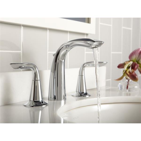KOHLER Refinia Bathroom Sink Faucet - 2-Handle - Polished Chrome