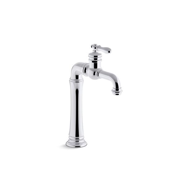 KOHLER Artifacts Bathroom Sink Faucet - 1-Handle - Polished Chrome