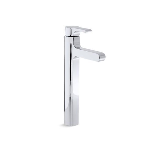 KOHLER Singulier Bathroom Sink Faucet - 1-Handle - Polished Chrome
