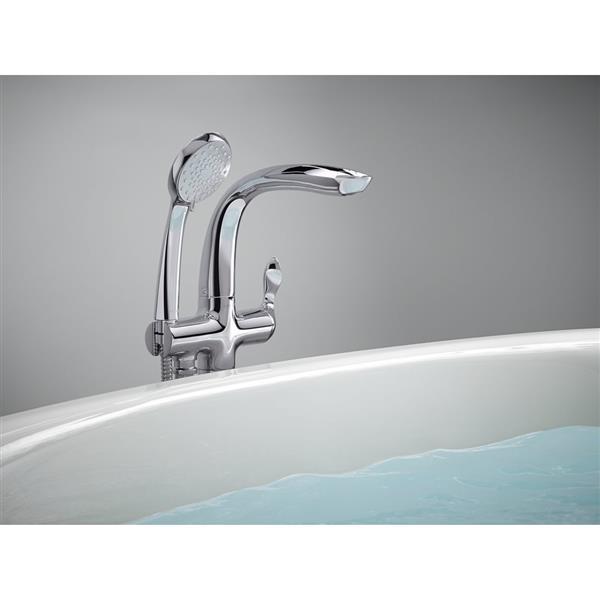 KOHLER Refinia Bathtub Faucet with Handshower - Polished Chrome