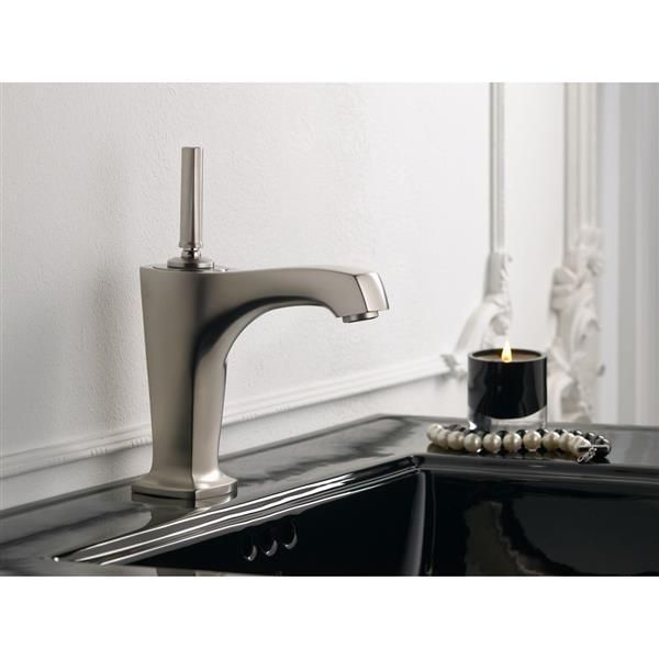 KOHLER Margaux Bathroom Sink Faucet - 1-Handle - Brushed Nickel