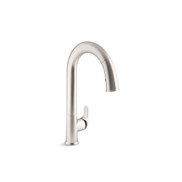 KOHLER Sensate Pull-Down Kitchen Sink Faucet - 1-Handle - Stainless Steel