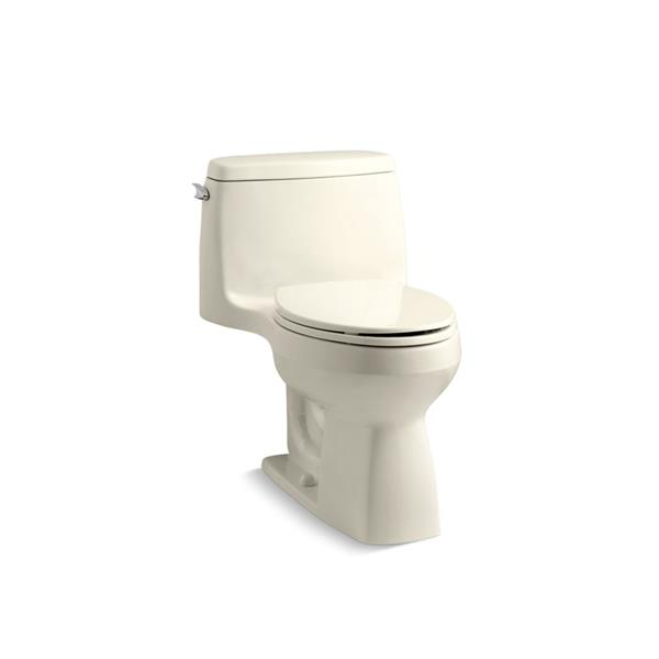 Toilette monobloc Santa Rosa de KOHLER, amande