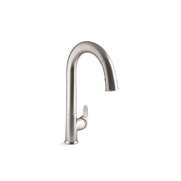 KOHLER Sensate Pull-Down Kitchen Sink Faucet - Stainless Steel