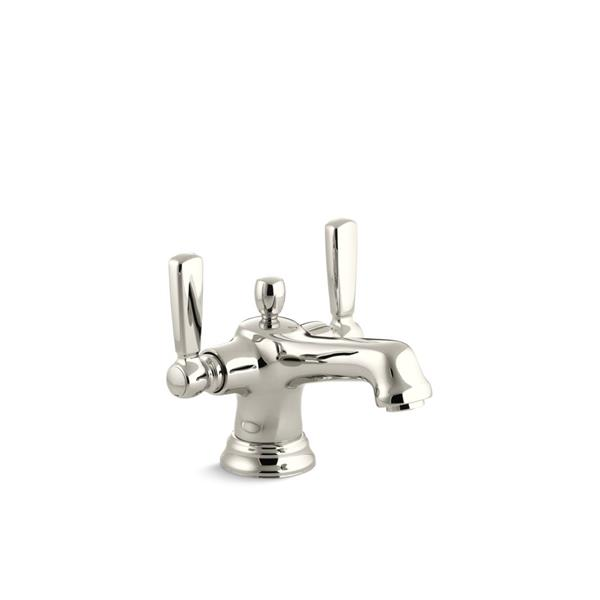 KOHLER Bancroft Bathroom Sink Faucet - 1-Handle - Polished Nickel
