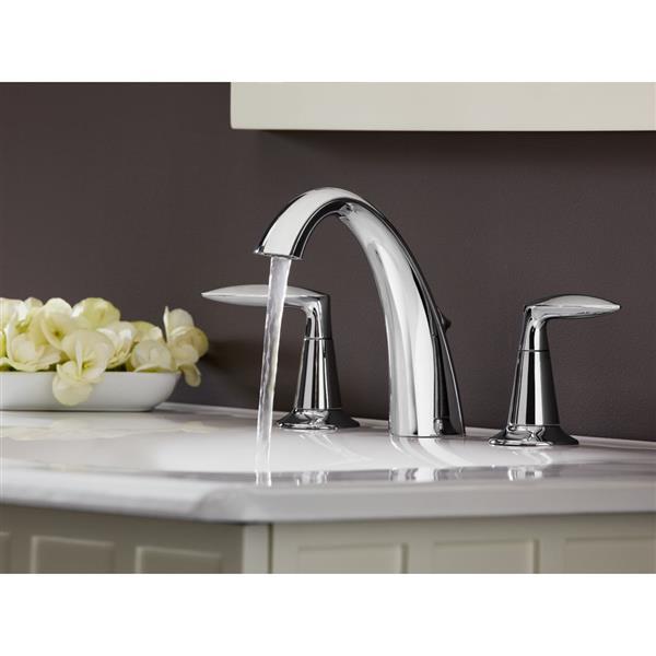 KOHLER Alteo Bathroom Sink Faucet - 2-Handle - WaterSense Labeled - Brushed Nickel