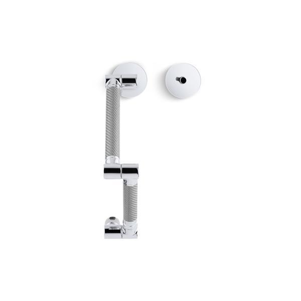 KOHLER Karbon High-Arc Kitchen Sink Faucet - 1-Handle - Polished Chrome