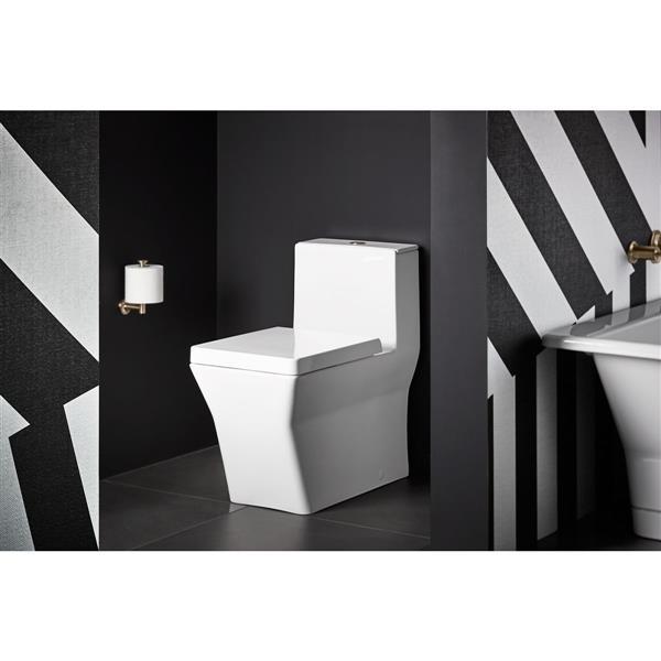 KOHLER Rêve Elongated Toilet - Dual-Flush - 1-Piece - Comfort Height - White