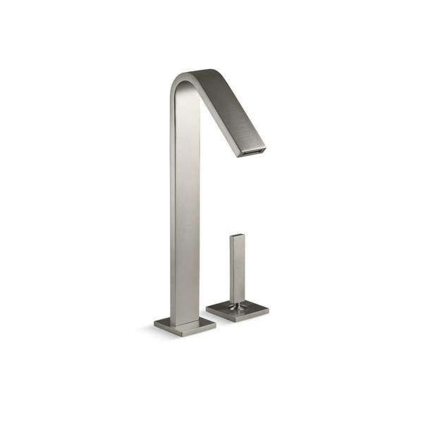 KOHLER Loure Bathroom Sink Faucet - 1-Handle - Brushed Nickel