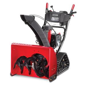Craftsman 26-in 208-cc Two Stage Snow Blower with Electric Start Track Drive