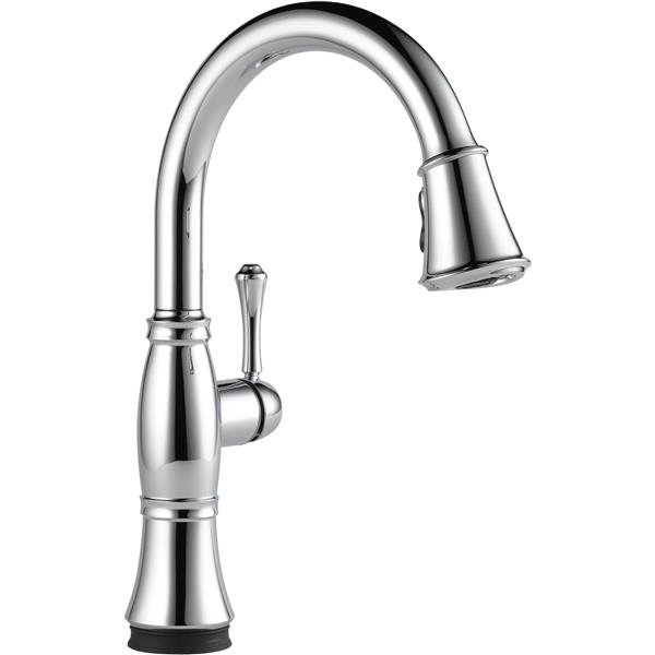 Delta Cassidy Kitchen Faucet - 16-in. - 1-Handle - Chrome