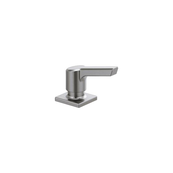 Delta Pivotal Soap/Lotion Dispenser - 3.25-in. - Arctic Stainless