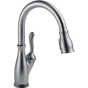 Delta Leland Touch2O(R) Kitchen Faucet - 14.88-in. - Arctic Stainless