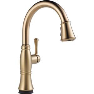 Delta Cassidy Kitchen Faucet - 16-in. - 1-Handle - Champagne Bronze