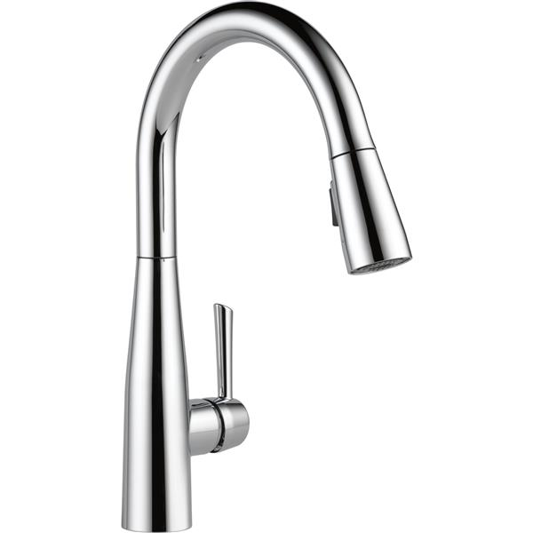 Delta Essa Kitchen Faucet - 15.25-in. - 1-Handle - Chrome