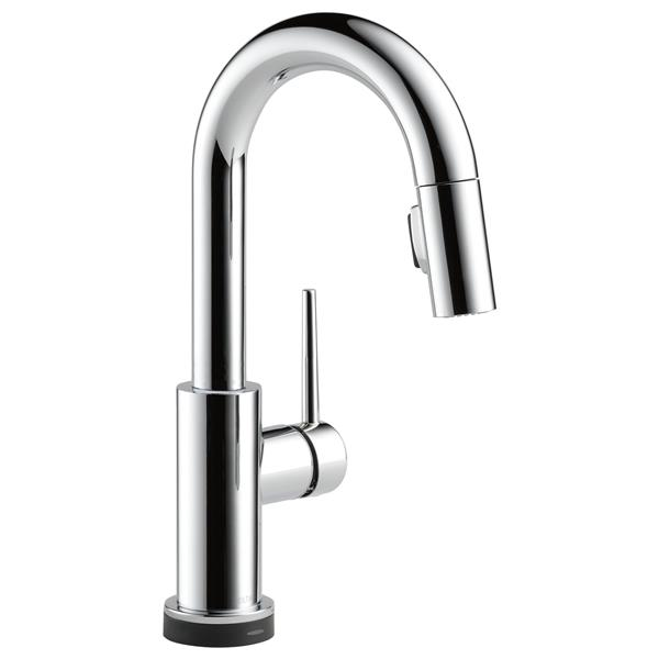 Delta Trinsic Touch2O(R) Bar and Prep Faucet - 13-in. - Chrome