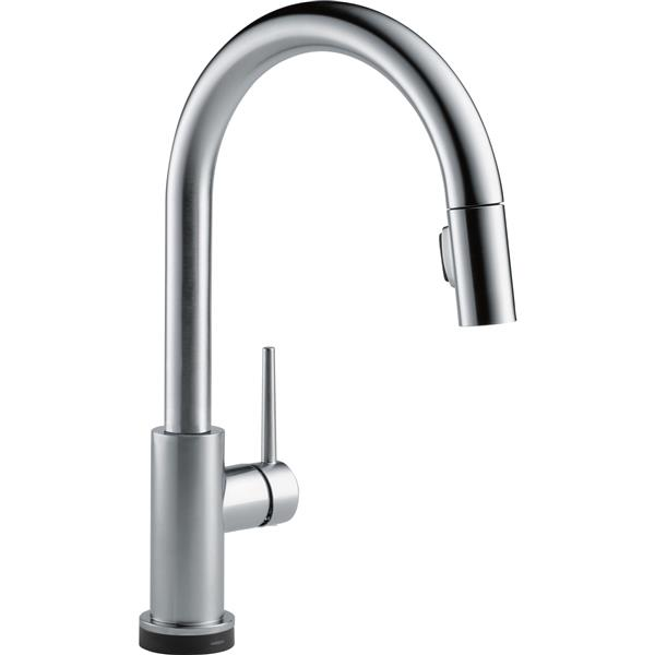 Delta Trinsic Touch2O(R) Kitchen Faucet - 15.69-in. - Arctic Stainless