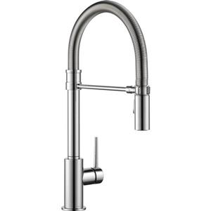 Delta Trinsic Kitchen Faucet - 18.75-in. - 1-Handle - Chrome