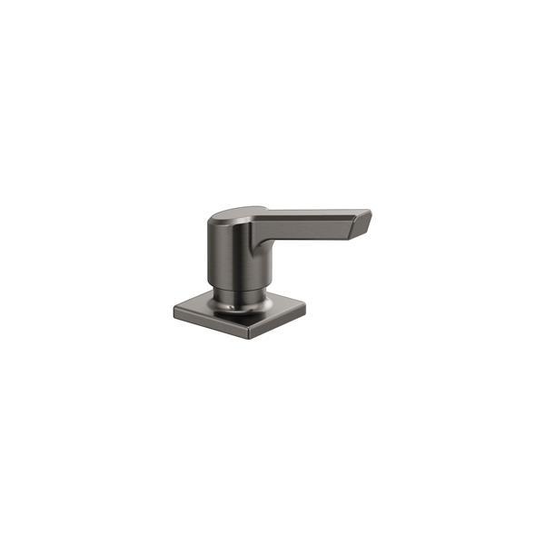 Delta Pivotal Soap/Lotion Dispenser - 3.25-in. - Black Stainless