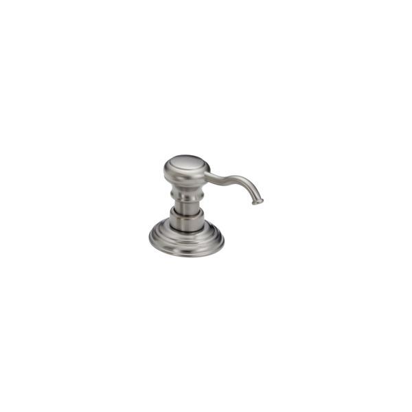 Delta Soap Dispenser - 2.75-in. - Stainless Steel