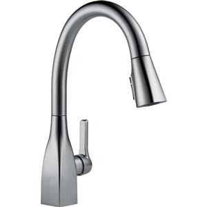 Delta Mateo Kitchen Faucet - 15.5-in. - 1-Handle - Arctic Stainless