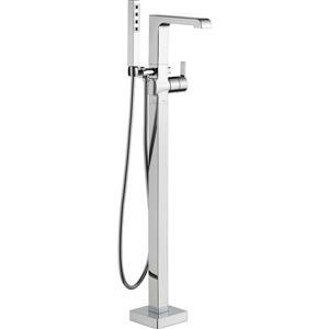 Robinet de bain autoportant Delta Ara, 8,19 po, chrome