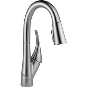 Delta Esque Bar and Prep Faucet - 14.5-in. - 1-Handle - Arctic Stainless