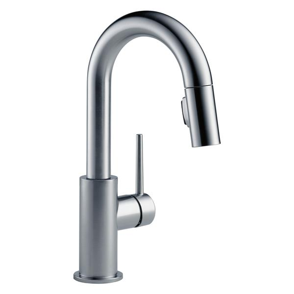 Delta Trinsic Bar and Prep Faucet - 13-in. - 1-Handle - Arctic Stainless