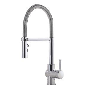 Delta Struct Kitchen Faucet - 18.72-in. - 1-Handle - Chrome