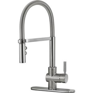 Delta Struct Kitchen Faucet - 18.72-in. - 1-Handle - Arctic Stainless