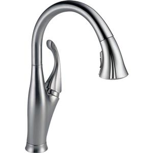 Delta Addison Kitchen Faucet - 15.5-in. - 1-Handle - Arctic Stainless