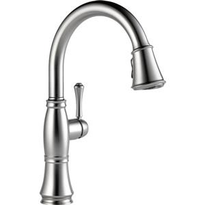 Delta Cassidy Kitchen Faucet - 15.5-in. - 1-Handle - Arctic Stainless