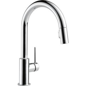 Delta Trinsic Kitchen Faucet - 15.69-in. - 1-Handle - Chrome
