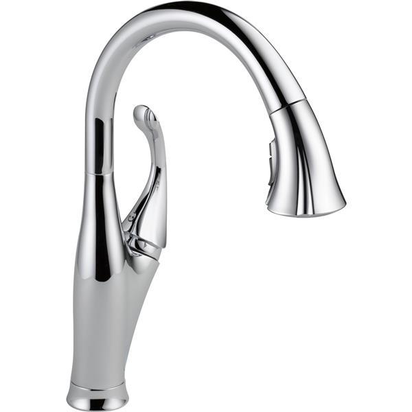 Delta Addison Kitchen Faucet - 15.5-in. - 1-Handle - Chrome