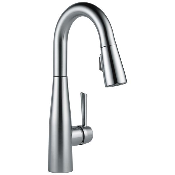 Delta Essa Bar and Prep Faucet - 14-in. - 1-Handle - Arctic Stainless