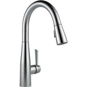 Delta Essa Kitchen Faucet - 15.25-in. - 1-Handle - Arctic Stainless