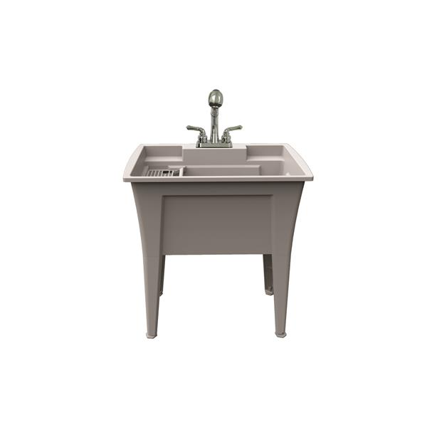 A&E Bath & Shower Jewel Laundry Tub kit With Faucet - 32-in