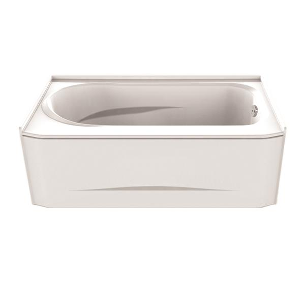 A&E Bath & Shower Odessa Tub with skirt - 60-in - White
