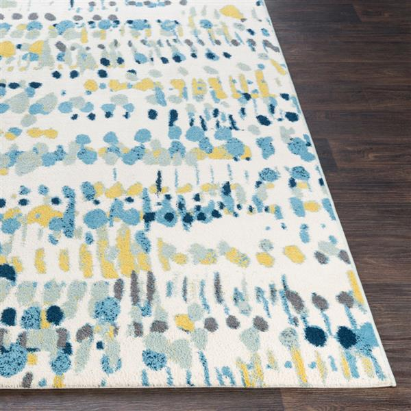 Surya Apricity Modern Area Rug - 7-ft 6-in x 9-ft 6-in - Rectangular - Sky Blue